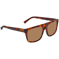 Kính Mát Gucci Brown Rectangular Men's Sunglasses GG0450S 003 57