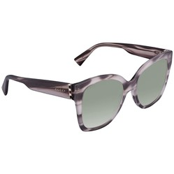 Kính Mát Gucci Green Gradient Cat Eye Ladies Sunglasses GG0459S 005 54