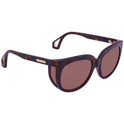 Kính Mát Gucci Brown Cat Eye Ladies Sunglasses GG0468S 001 57