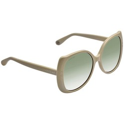 Kính Mát Gucci Light Green Gradient Butterfly Ladies Sunglasses GG0472S 005 56