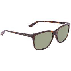 Kính Mát Gucci Green Rectangular Men's Sunglasses GG0495S00257