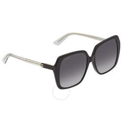 Kính Mát Gucci Grey Gradient Square Ladies Sunglasses GG0533SA-005 56