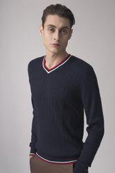 Áo Len Nam Giovanni MA005-BL Màu Đen Size 52