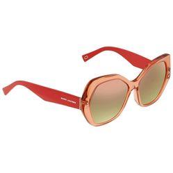 Kính Mát Marc Jacobs Red Geometric Ladies Sunglasses Marc117s026x56