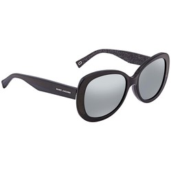 Kính Mát Marc Jacobs Silver Mirror Butterfly Ladies Sunglasses MARC261S0NS856
