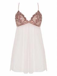 Đầm Ngủ Corele V - Nuisette - N025A Hồng Phấn S