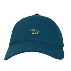 Mũ Lacoste Men's Baseball Cap Solid Sabardine Blue