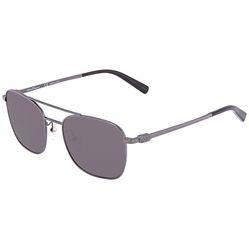 Kính Mát Salvatore Ferragamo Grey Square Men's Sunglasses SF158S01553