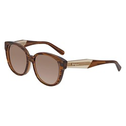 Kính Mát Salvatore Ferragamo Brown Lens Ladies Sunglasses