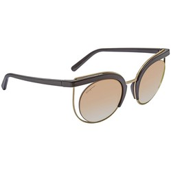 Kính Mát Salvatore Ferragamo Brown Gradient Cat Eye Ladies Sunglasses