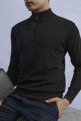 Áo Len Nam Giovanni UA006-BL Màu Đen Size 46