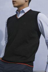 Áo Len Nam Giovanni UA010-BL Màu Đen Size 46
