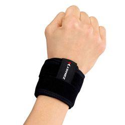 Đai Bảo Vệ Cổ Tay Zamst Wrist Band Màu Đen Size L
