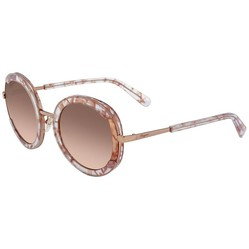 Kính Mát Salvatore Ferragamo Round Ladies Sunglasses