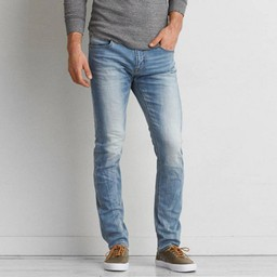 Quần Jeans American Eagle Slim Light Wash