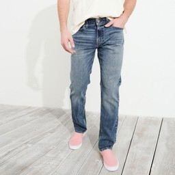 Quần Jeans Hollister Straight Fit 22
