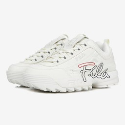 Giày Fila Disruptor White And Flamingo Pink Size 39