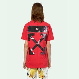 Áo Phông Off-White Caravaggio Arrows S/S T-Shirt Màu Đỏ