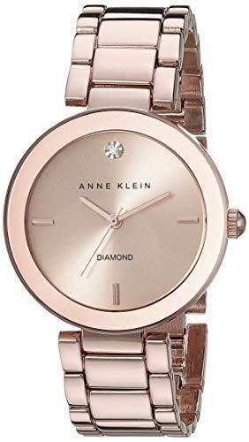 Đồng Hồ Anne Klein Diamond AK/1362RGRG Cho Nữ Vàng Hồng