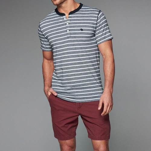Áo Thun Abercrombie & Fitch Muscle Fit Grey