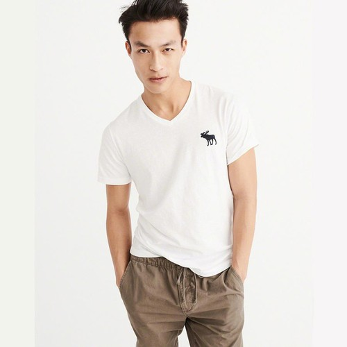 Áo Thun Abercrombie & Fitch Muscle Fit White