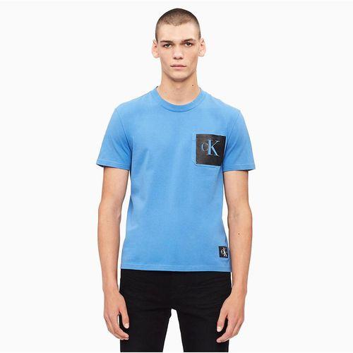 Áo Thun Calvin Klein Standard Fit Monogram Logo crewneck