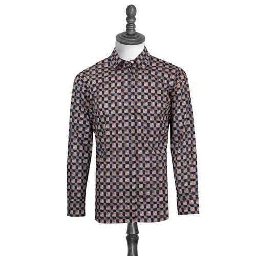 Áo Burberry London England Equestrian Knight Long Sleeve Check Drawcord Shirt