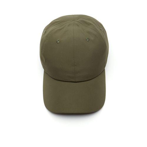 Mũ Lacoste Men's Water-Resistant Taffeta Cap Khaki Green