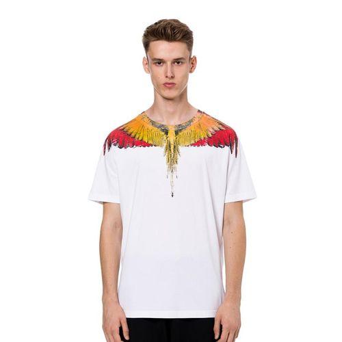 Áo Phông Trắng Marcelo Burlon Wings T-Shirt Size M