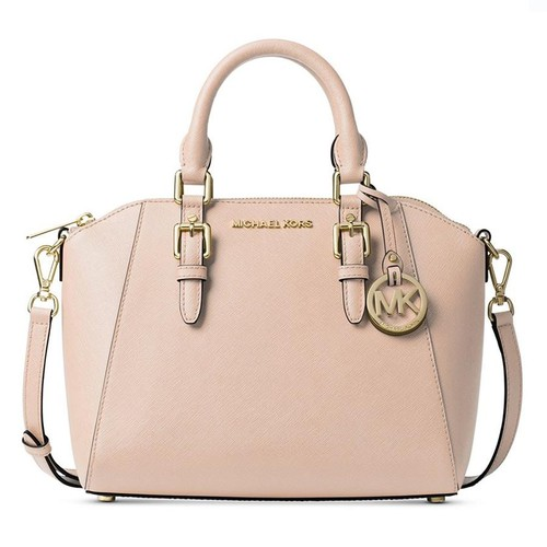 Túi Xách Michael Kors Ciara Medium Saffiano Leather Satchel