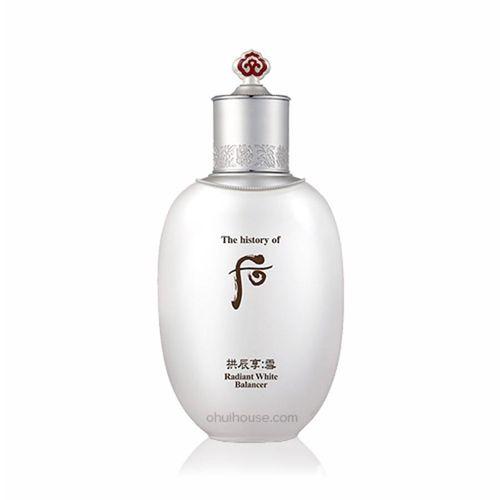 Nước Hoa Hồng Dưỡng Trắng Da Whoo Gongjinhyang Seol Radiant White Balancer
