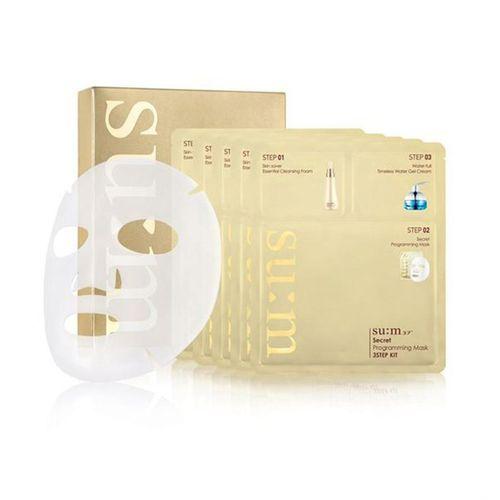 Mặt Nạ Dưỡng Da Su:m37 Secret Programming Mask 3 Step Kit - Cho Da Căng Mượt Diệu Kỳ