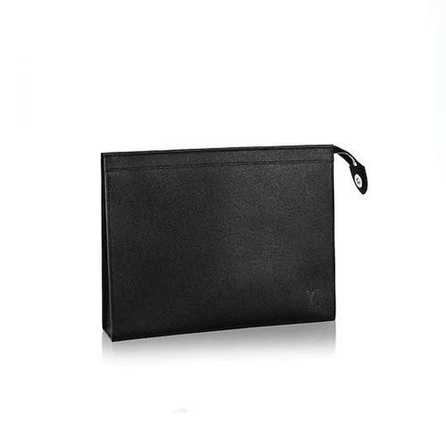 Túi Louis Vuitton Pochette Voyage Mm In Taiga Leather