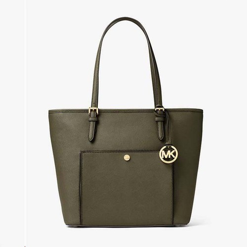 Túi Xách Michael Kors Jet Set Medium Snap-Pocket Tote
