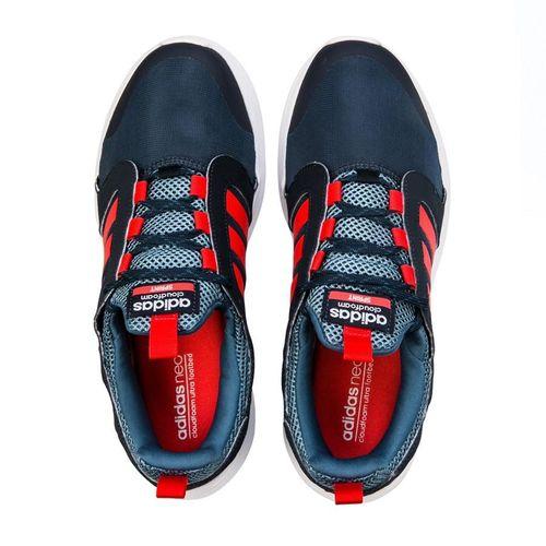 Giày Adidas Neo Cloudfoam Sprint Blauw Sneakers Heren Navy Blue AQ1491