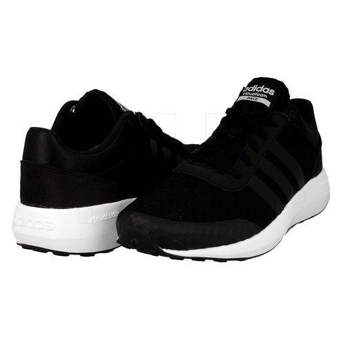 Giày Adidas Men's Essentials Cloudfoam Race Shoes Black  AW5321