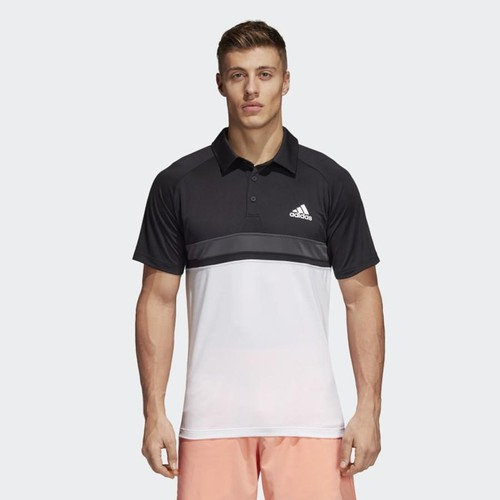 Áo Adidas Men Tennis Colorblock Club Polo Shirt Black CE1420 Size M