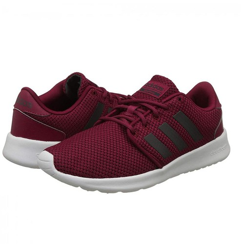 Giày Adidas Women's Essentials Cloudfoam QT Racer Shoes Mystery Ruby BB7311 Size 3-