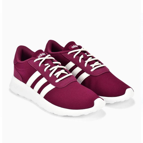 Giày Adidas Women Lifestyle Lite Racer Shoes Ruby B44655 Size 3-