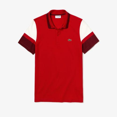 Áo Lacoste Men's Slim Fit Stretch Pima Polo Shirt Red