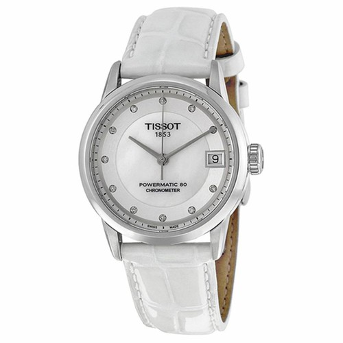 Đồng Hồ Đeo Tay Nữ Tissot Powermatic 80 Mother Of Pearl