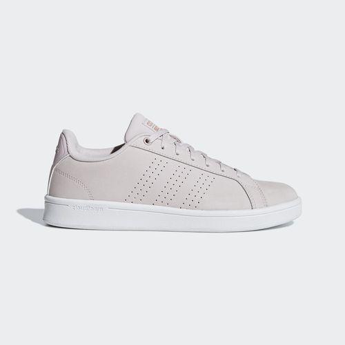 Giày Adidas Women Sport Inspired Cloudfoam Advantage Clean Shoes Ice Purple B42161 Size 5-