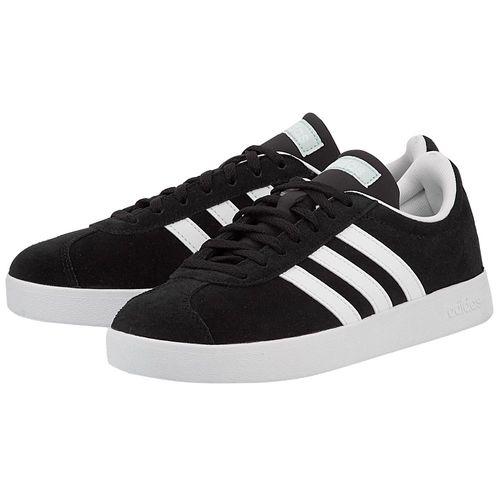 Giày Adidas Women Sport Inspired Vl Court 2.0 Shoes Black DA9887 Size 5