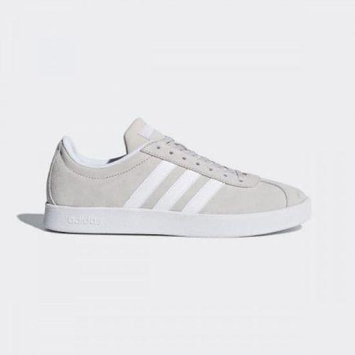 Giày Adidas Women's Essentials Vl Court 2.0 Shoes Chalk Pearl DA9888 Size 3-