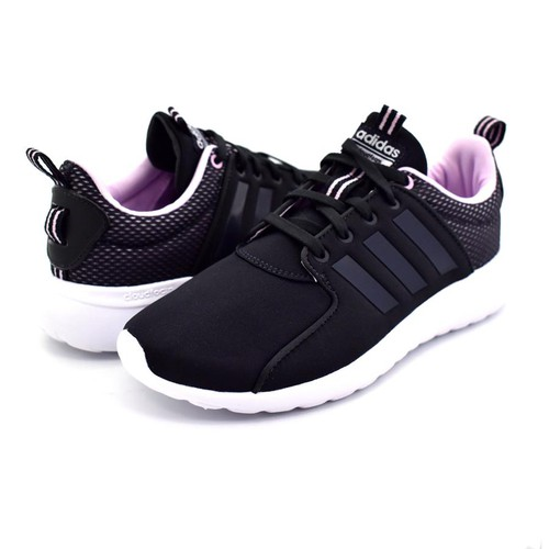 Giày Adidas Women's Sport Inspired Adidas Cloudfoam Lite Racer Shoes Black DB0636  Size 4-