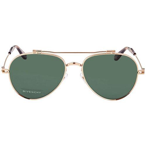 Kính Mát Givenchy Nude Green Grey Aviator Unisex Sunglasses