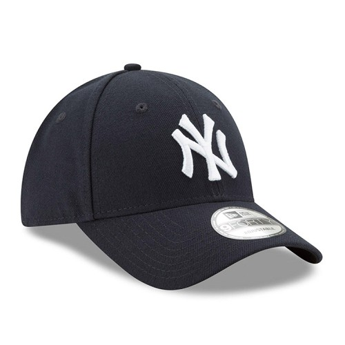 Mũ MLB Men's New York Yankees New Era Navy League 9FORTY Adjustable Hat Black