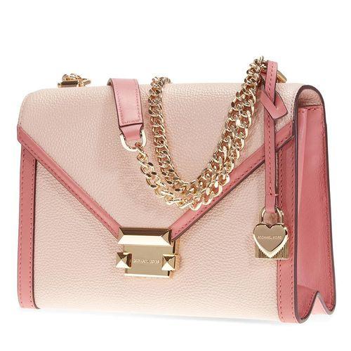 Túi Đeo Chéo Michael Kors Whitney Large Flap Shoulder Bag- Soft Pink/Multi Cho Nữ
