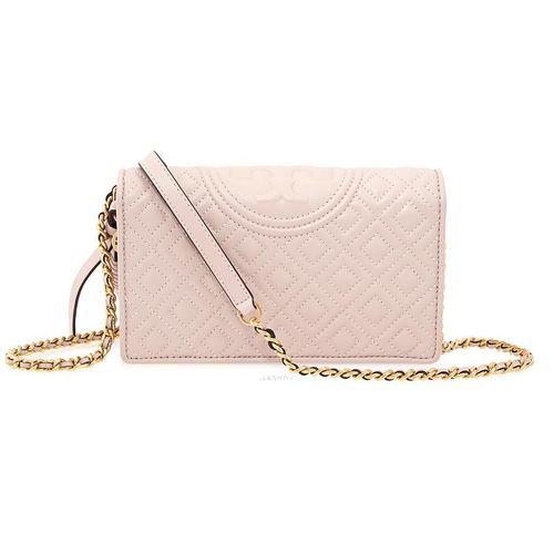 Túi Đeo Chéo Tory Burch Fleming Crossbody Bag- Shell Pink Cho Nữ