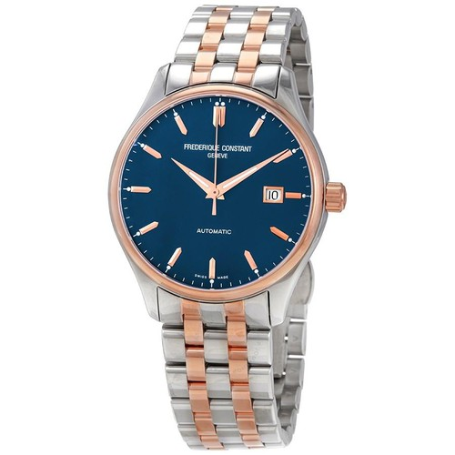 Đồng Hồ Frederique Constant Automatic Blue Dial Men's Two-Tone Watch FC-303LN5B2B